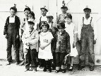 Orient Children Dressed as Miners for a Play, 1928 -