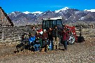 CC Volunteers at the Everson Ranch -