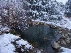 Winter snow at Soaking Pond - Jerry Kaiser