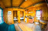 Cottonwood Cabin, interior - Doug Bates
