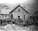 Mining Camp at the Orient Mine -