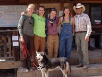 CC Volunteers with Ranch Manager, Mike O'Donal