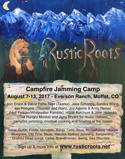 Rustic Roots Music Camp at the Everson Ranch