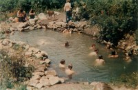 70s Photo of Party Pool