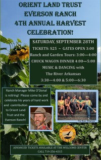 Poster for Harvest Celebration 2019