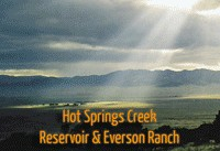 Hot Springs Creek, Reservoir & Everson Ranch animated history