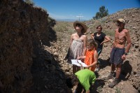 Exploring the Fault Scarp, Science Camp 2014