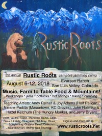 Rustic Roots 2018 Poster