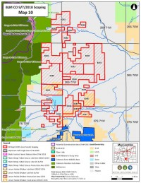 Wolf Springs Oil and Gas Proposal area map