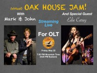 Save the Date: Oak House Jam - May 22