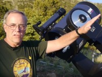 """Cosmic"" Mark and OLT's New Telescope"