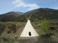 Teepee for Massage
