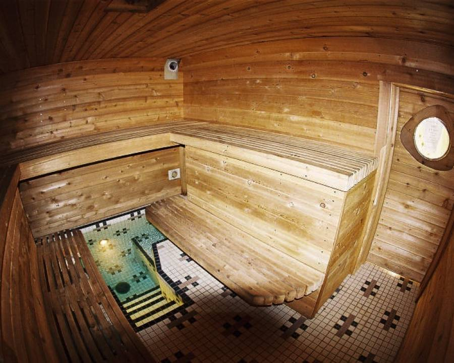 Hydroelectric Sauna